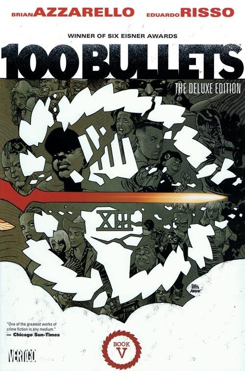 Couverture de 100 Bullets (1999) -INTHC5- The Deluxe Edition: Book 5