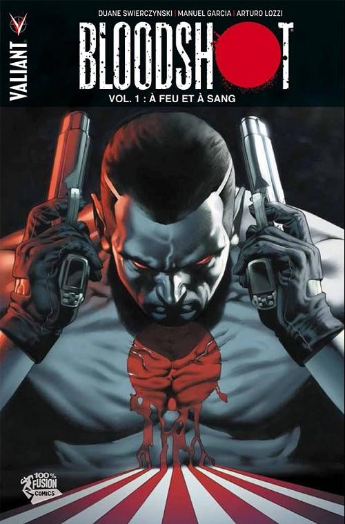 Couverture de Bloodshot -1- À feu et à sang