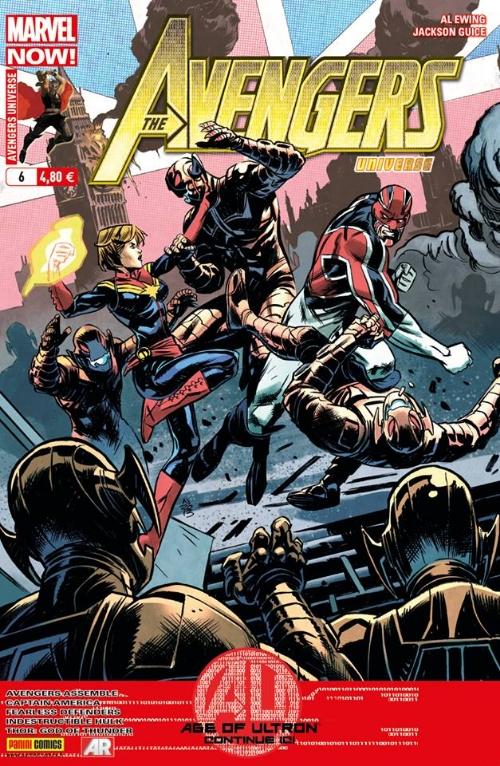 Couverture de Avengers Universe (1re série - 2013) -6- Comme par magie