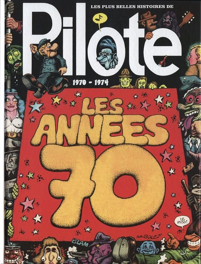 Couverture de Les plus belles histoires de Pilote -2- Les années 70