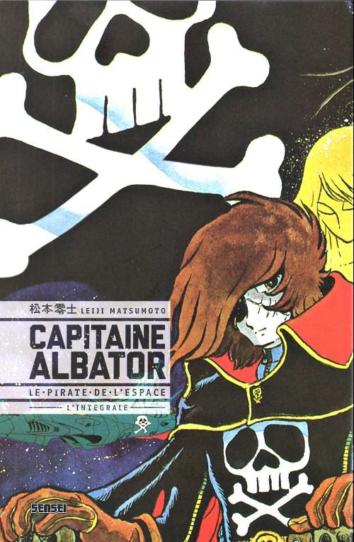 Couverture de Capitaine Albator - Le pirate de l'espace -INT- L'Intégrale