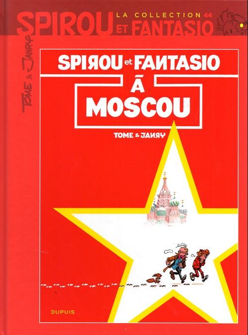 Couverture de Spirou et Fantasio - La collection (Cobra) -44- Spirou et Fantasio à Moscou
