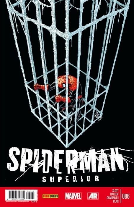 Couverture de Asombroso Spiderman -86- Sin Salida