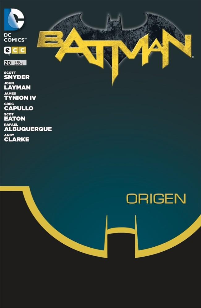 Couverture de Batman (en espagnol) -20- Origen