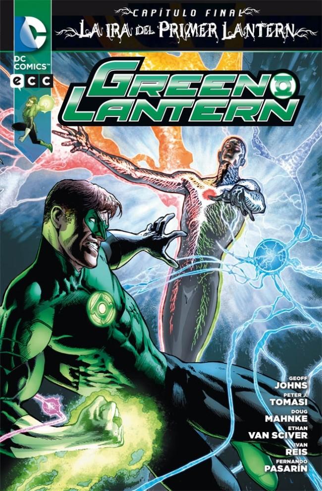 Couverture de Green Lantern (Linterna Verde): Números Únicos - Green Lantern Especial: La Ira Del Primer Lantern: Capítulo Final