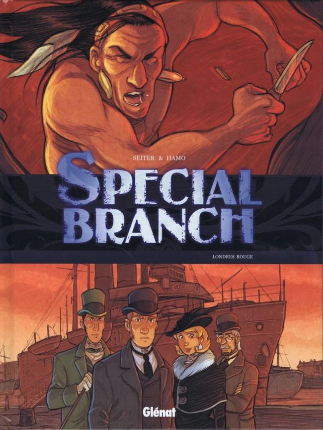 Couverture de Special Branch -4- Londres rouge