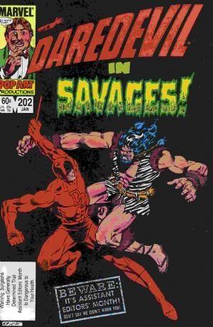 Couverture de Daredevil Vol. 1 (Marvel - 1964) -202- Savages!
