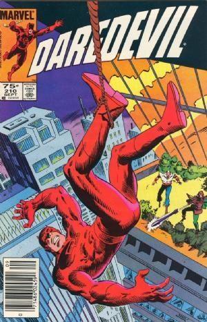 Couverture de Daredevil (1964) -210- Survivor !