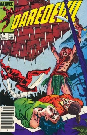 Couverture de Daredevil Vol. 1 (Marvel - 1964) -211- This hungry god