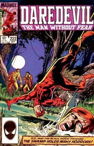 Couverture de Daredevil Vol. 1 (Marvel - 1964) -222- Fear in a handful of dust...