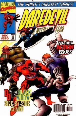 Couverture de Daredevil (1964) -370- Widow's Kiss
