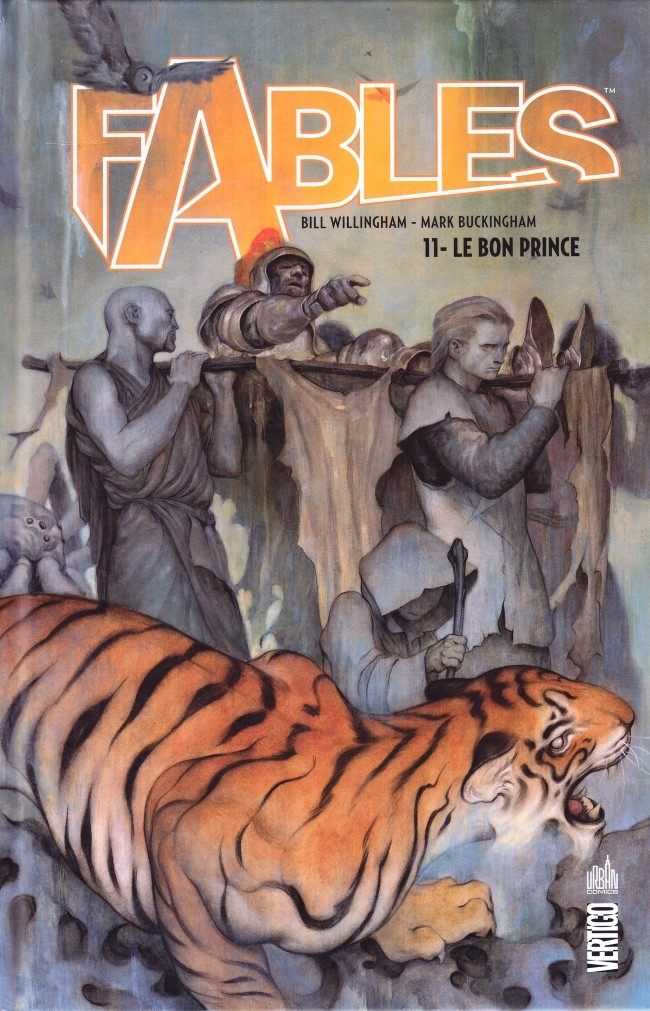 Couverture de Fables (Urban Comics) -11- Le Bon Prince
