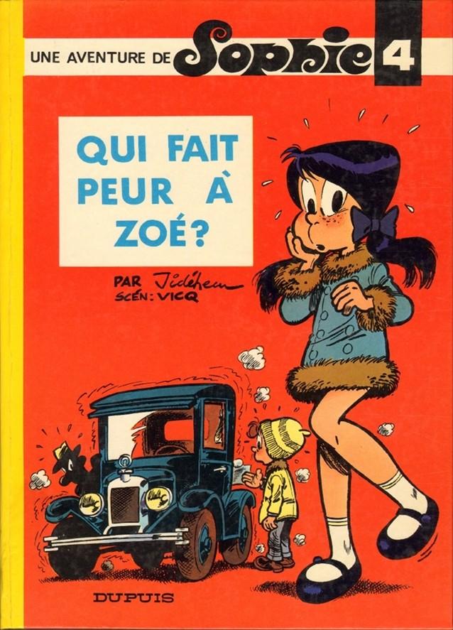 Couverture de Sophie (Jidéhem) -4- Qui fait peur à Zoé ?