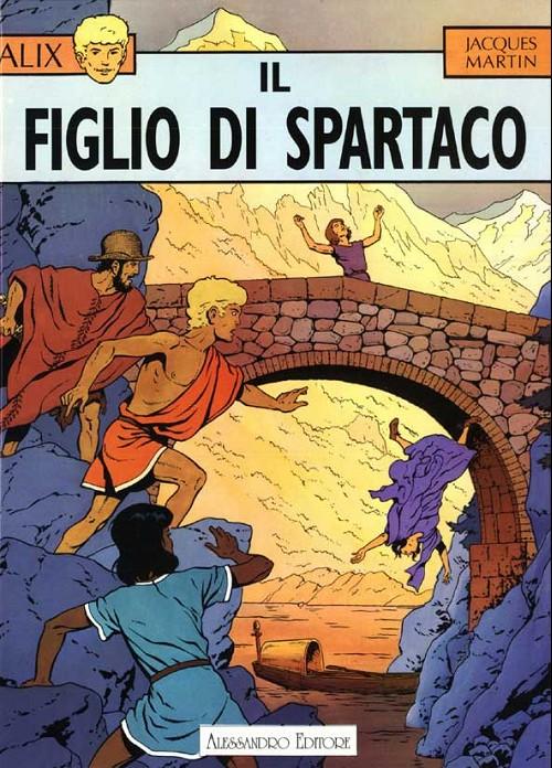 Couverture de Alix (en italien) -2- Il figlio di spartaco