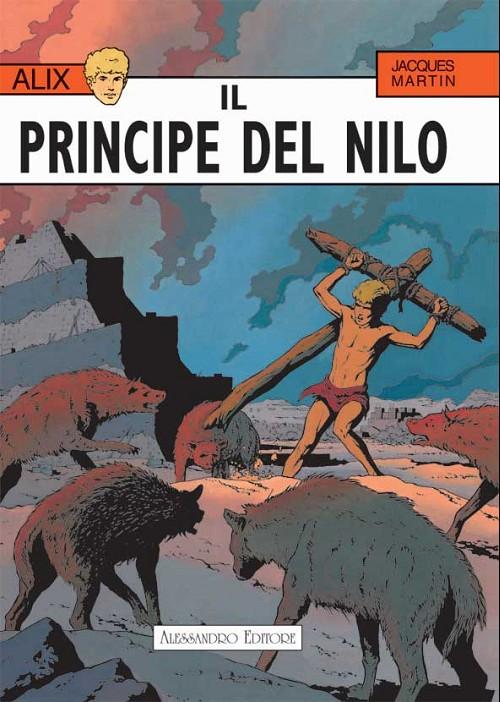 Couverture de Alix (en italien) -3- Il pincipe del nilo