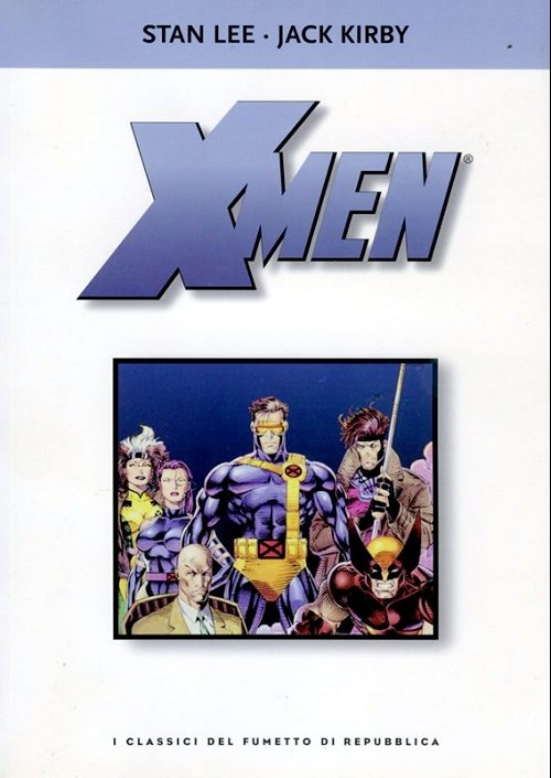 Couverture de Classici del fumetto di Repubblica (I) -12- X Men