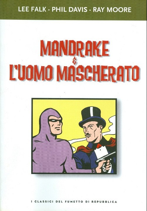 Couverture de Classici del fumetto di Repubblica (I) -15- Mandrake e l'uomo mascherato