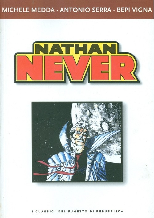 Couverture de Classici del fumetto di Repubblica (I) -23- Nathan Never