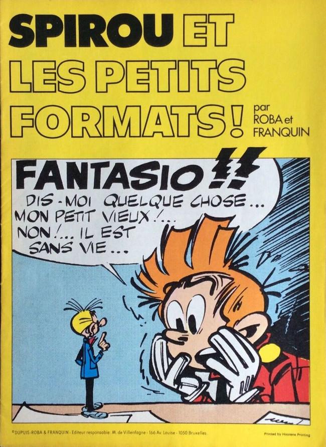 Couverture de Spirou et Fantasio -2- (Divers) -Pub- Spirou et les petits formats