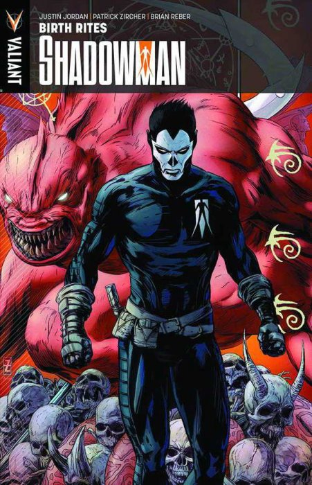 Couverture de Shadowman (2012) -INT01a- Birth Rites