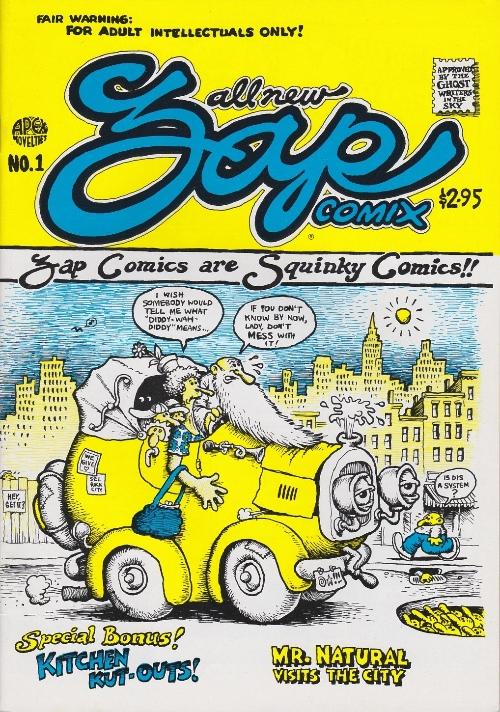 Couverture de Zap Comix (1967) -1h88- Meatball/City of the Future