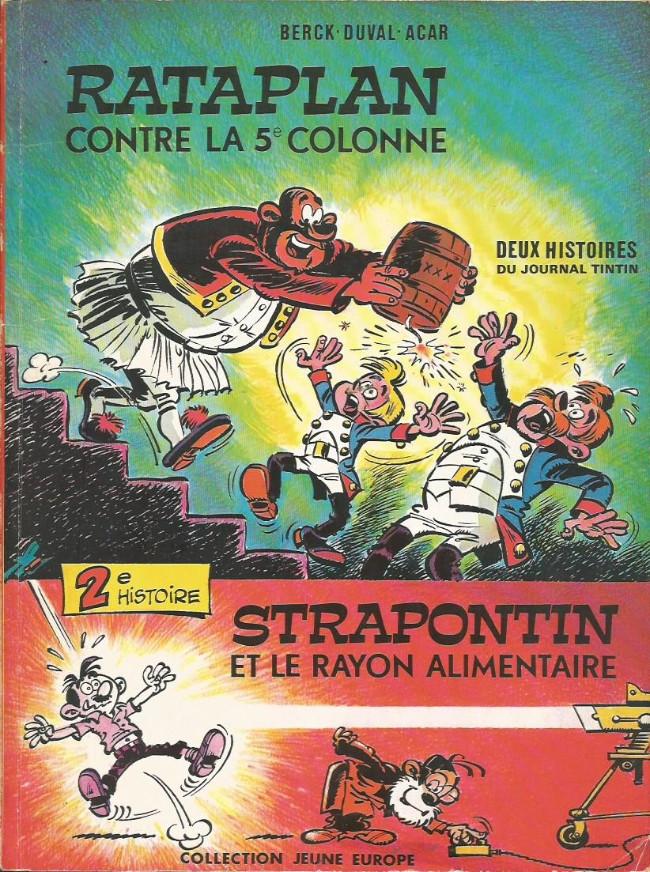 Couverture de Strapontin -8- Strapontin et le rayon alimentaire