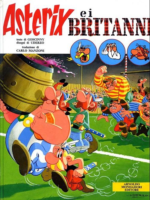 Couverture de Astérix (en italien) -8- Asterix e i britanni