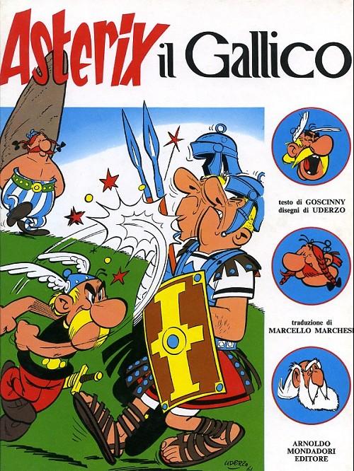 Couverture de Astérix (en italien) -1- Astérix il gallico