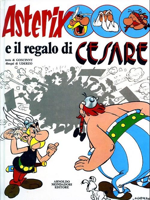 Couverture de Astérix (en italien) -21- Asterix e il regalo di cesare