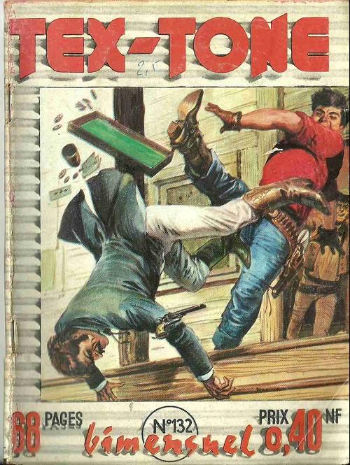 Couverture de Tex-Tone -132- Les jeunes mavericks