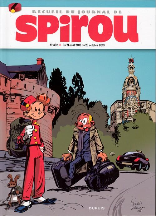 Couverture de (Recueil) Spirou (Album du journal) -332- Spirou album du journal