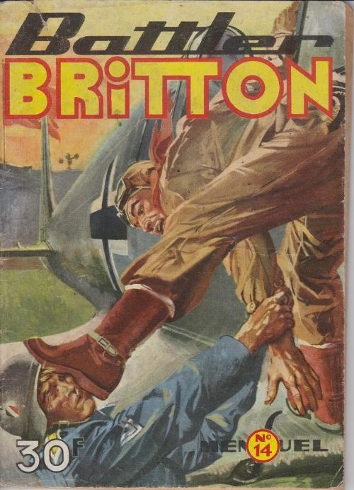 Couverture de Battler Britton (Imperia) -14- Battler Briton rencontre Goliath