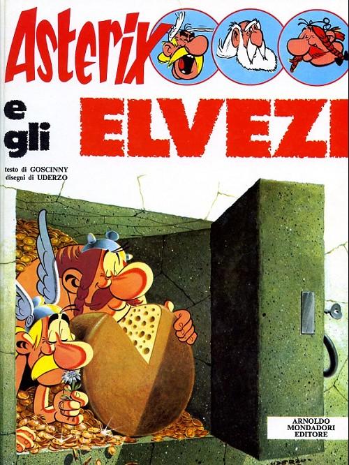 Couverture de Astérix (en italien) -16- Asterix e gli elvezi