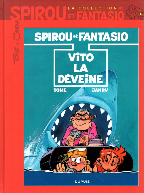 Couverture de Spirou et Fantasio - La collection (Cobra) -45- Vito la déveine
