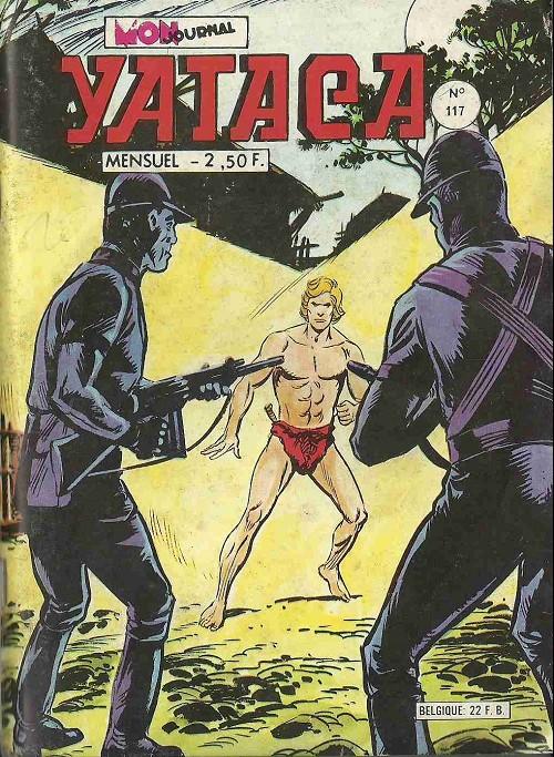 Couverture de Yataca (Fils-du-Soleil) -117- Terreur dans la jungle