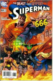 Couverture de Superman (1939) -666- The Beast From Krypton