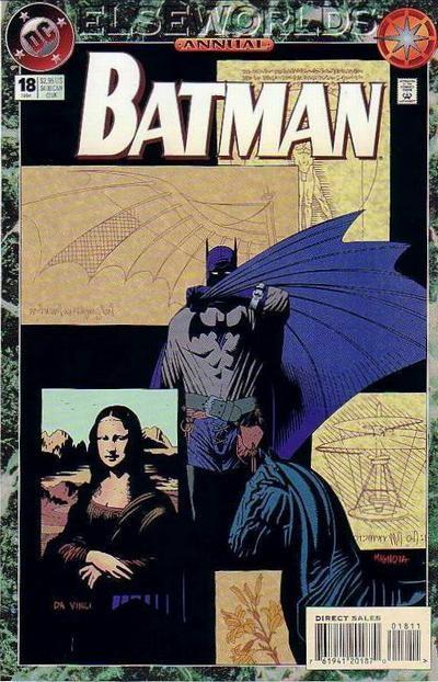 Couverture de Batman Vol.1 (DC Comics - 1940) -AN18- Annual 18: Black masterpiece