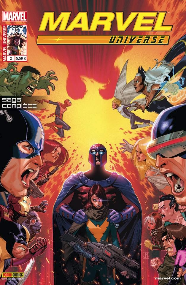 Couverture de Marvel Universe (Panini - 2013) -2- Avengers vs X-Men