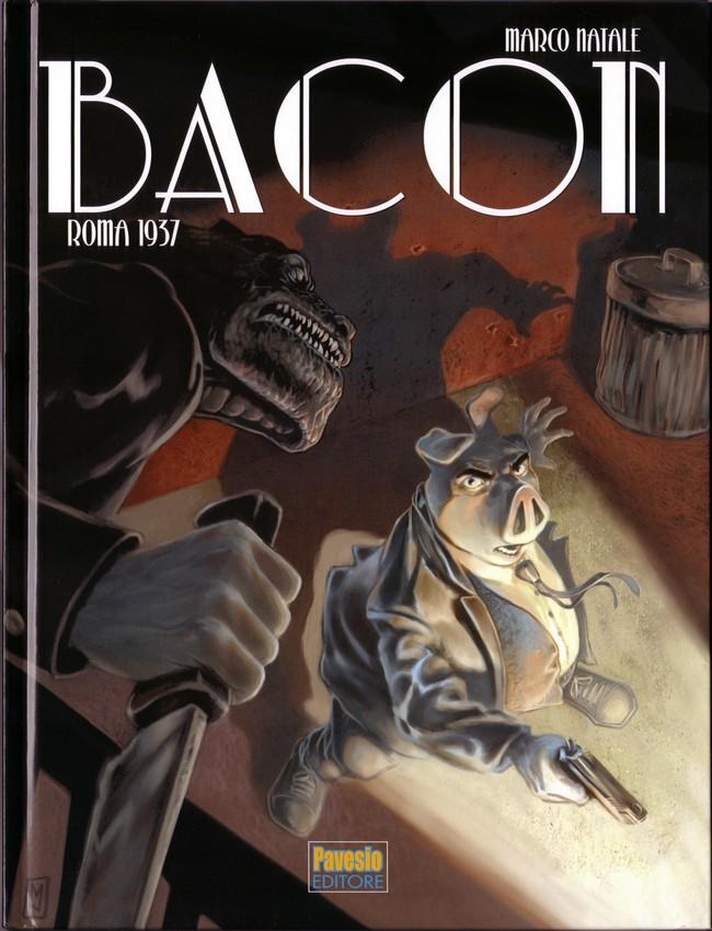 Couverture de Bacon -2- Roma 1937
