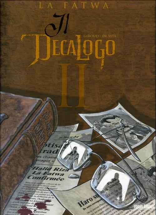 Couverture de Decalogo (Il) -2- La fatwa