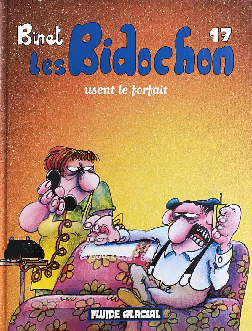 Couverture de Les bidochon -17- Les Bidochon usent le forfait