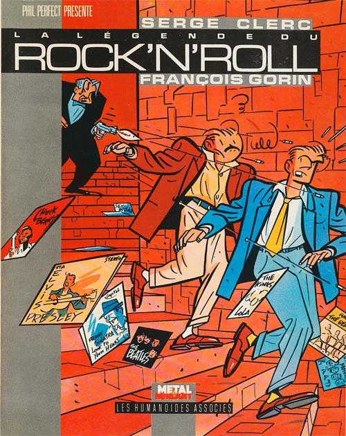 Couverture de Phil Perfect -6- La légende du Rock'N'Roll