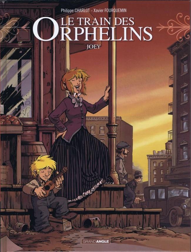 Couverture de Le train des Orphelins -4- Joey