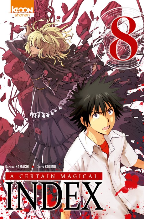 Couverture de A Certain Magical Index -8- Tome 8