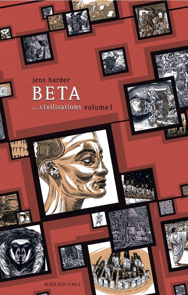 Couverture de Le grand récit -2- Beta... civilisations volume 1