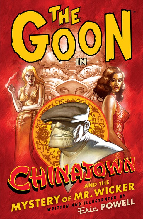 Couverture de Goon (The) (2003) -INT06- Chinatown and the mystery of Mr. Wicker
