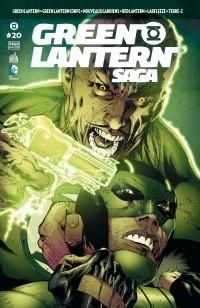 Couverture de Green Lantern Saga -20- La colère du premier Lantern - 3e partie
