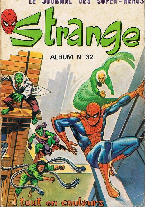Couverture de Strange -Rec032- Album N°32 (du n°95 au n°97)