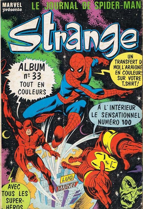 Couverture de Strange -Rec033- Album N°33 (du n°98 au n°100)