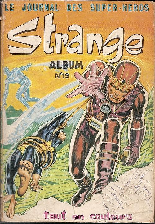 Couverture de Strange -Rec019- Album N°19 (du n°56 au n°58)